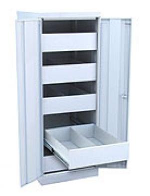 Шкаф металлический картотечный ШК-5-Д2